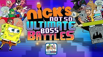 Nick's Not So Ultimate Boss Battles - Nonstop Boss Fights COMPLETE (Nickelodeon Games)