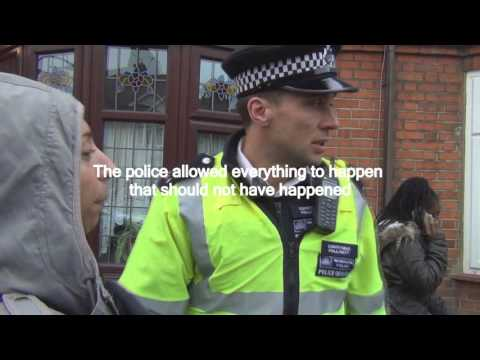 POLICE BRUTALITY: Unlawful Eviction In Essex PT 6 of 7