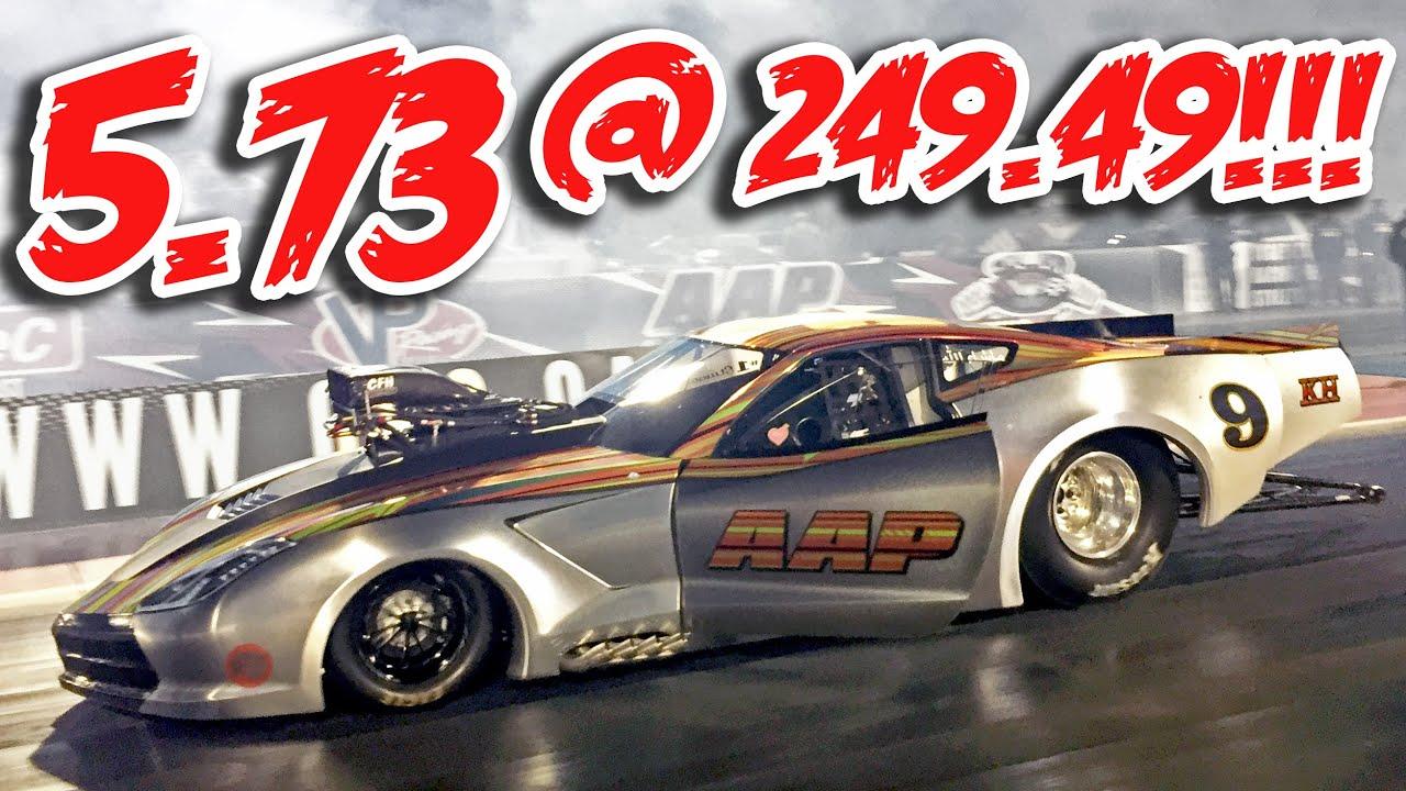 Worlds Fastest Pro Mod 5 73 249 49 Youtube