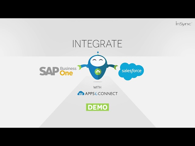 Integrate Salesforce CRM and SAP Business One ERP | APPSeCONNECT