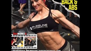 Back & Abs with Ms  Figure International Camala Rodriguez