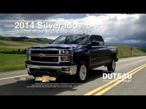 Duteau Chevrolet Youtube
