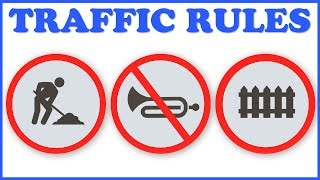 Traffic Signs | Road Signs | Traffic Signal | Learning & Education | Teddy & Timmy Poems For Kids
