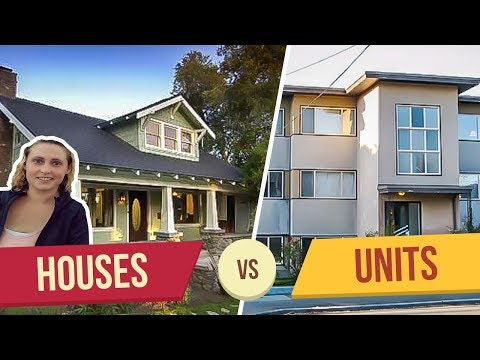 5 Reasons Houses are better than Multifamily Units -- Residential vs Commercial Real Estate