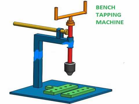 Image result for tapping machine