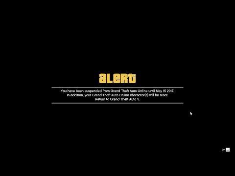 GTA 5 I GOT BANNED! @RockstarGames