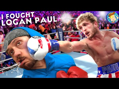 I FOUGHT LOGAN PAUL At The STAPLES CENTER!  (KSI Boxing Rematch)