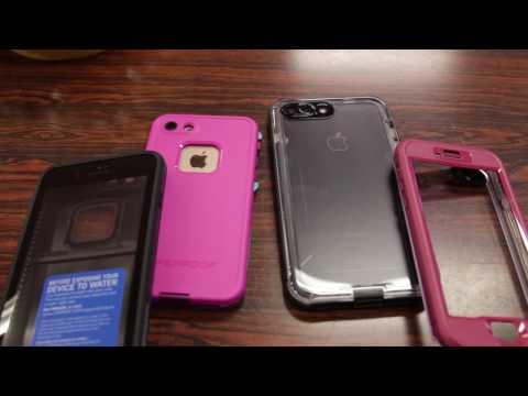 LifeProof Fre Case VS  Nuud Case! Quick Comparison -  iPhone 7 / 7 PLUS