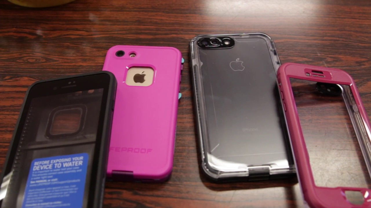 best service 0cf07 6bb4b LifeProof Fre Case VS Nuud Case! Quick Comparison - iPhone 7 / 7 PLUS