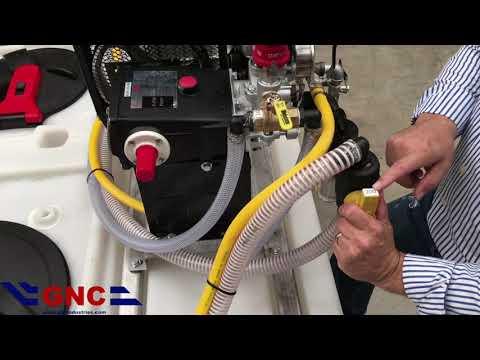 GNC Industries, Inc. - Dual Tank / P530 Piston Pump, Sprayer Operation