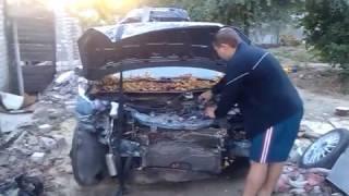 Форд Фокус после аварии