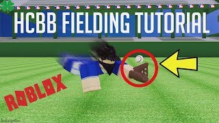 INSANE FIELDING TUTORIAL | HCBB (ROBLOX)