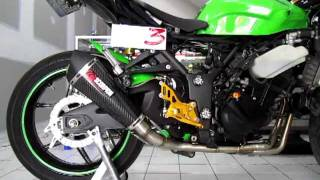 Scorpion exhaust w/o db killer Ninja250R by One3 Motoshop