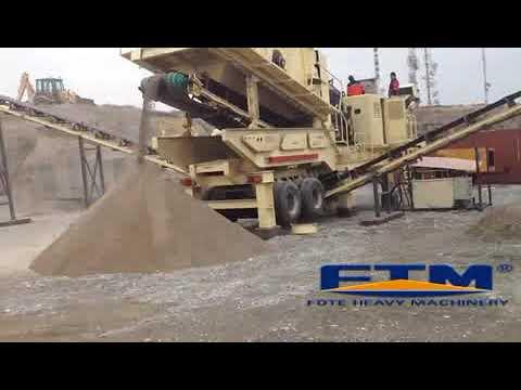 Mobile Stone Crusher, Mobile Stone Crusher Price, Mobile Rock Crusher