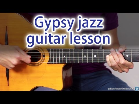 Learn Gyspy Jazz : Guitar lesson