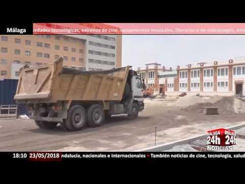 Las obras de la plaza de Tabacalera en Carretera de Cádiz concluirán a finales de verano