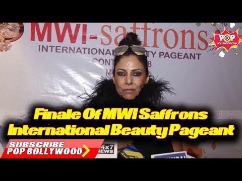 Finale Of MWI Saffrons International Beauty Pageant