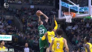 Daniel Theis Highlights vs Los Angeles Lakers (8 pts, 5 reb, 3 blk)