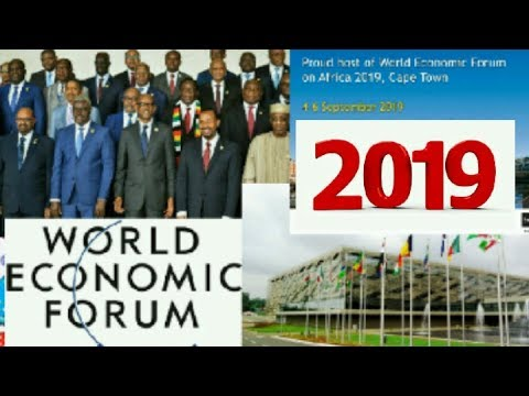 28th world economic forum on Africa, theme shaping growth in the fouth industrial revolution