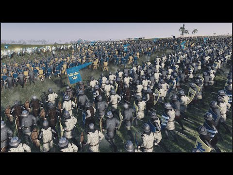 THE SWEDISH INVASION - Medieval Kingdoms: Total War Mod Gameplay