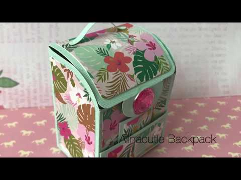 AlinaCutle | Alina Crafts | DT Project Share | Mini Backpack