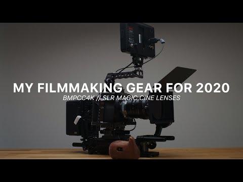 My Filmmaking Gear For 2020 // BMPCC4K + SLR MAGIC CINE LENSES