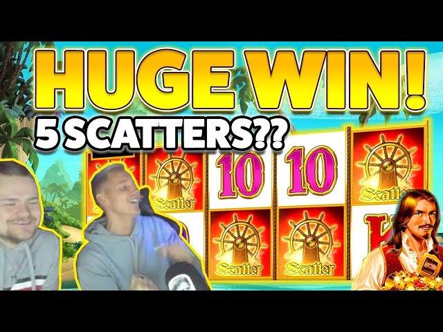 MASSIVE WIN!! Captain venture BIG WIN - HUGE WIN on Online Slot from CasinoDaddy
