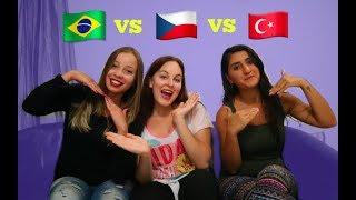 UČÍM ČESKY KAMARÁDKY Z BRAZÍLIE A TURECKA?