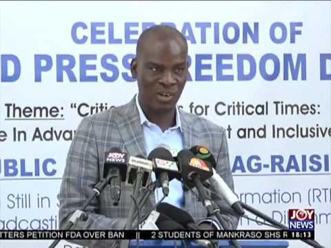 World Press Freedom Day - Today's Big Story on JoyNews (3-5-17)
