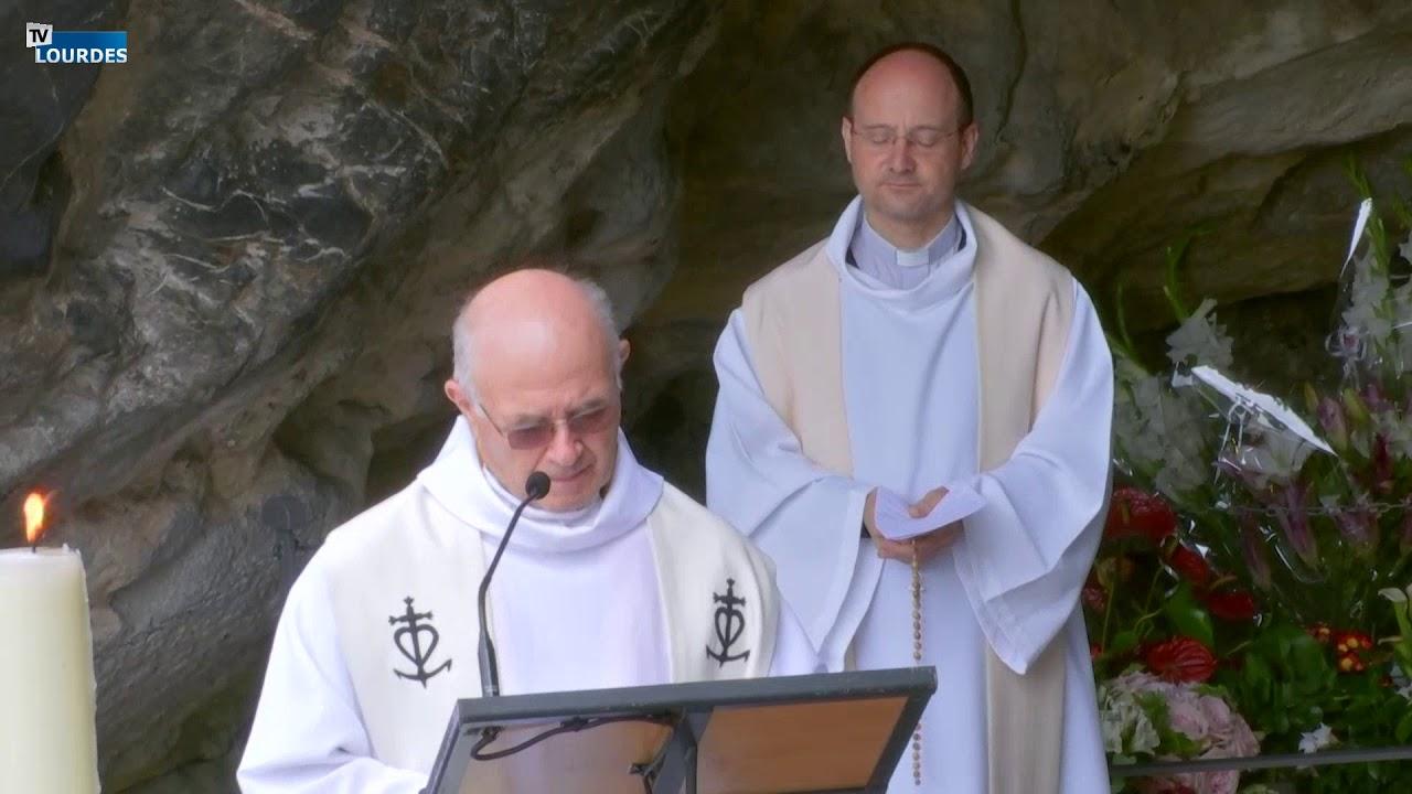 Chapelet de Lourdes du lundi 06 juil. 2020