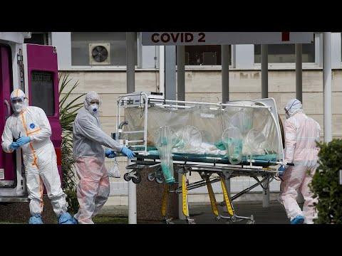 Coronavirus: Italia, lunedi meno morti di domenica