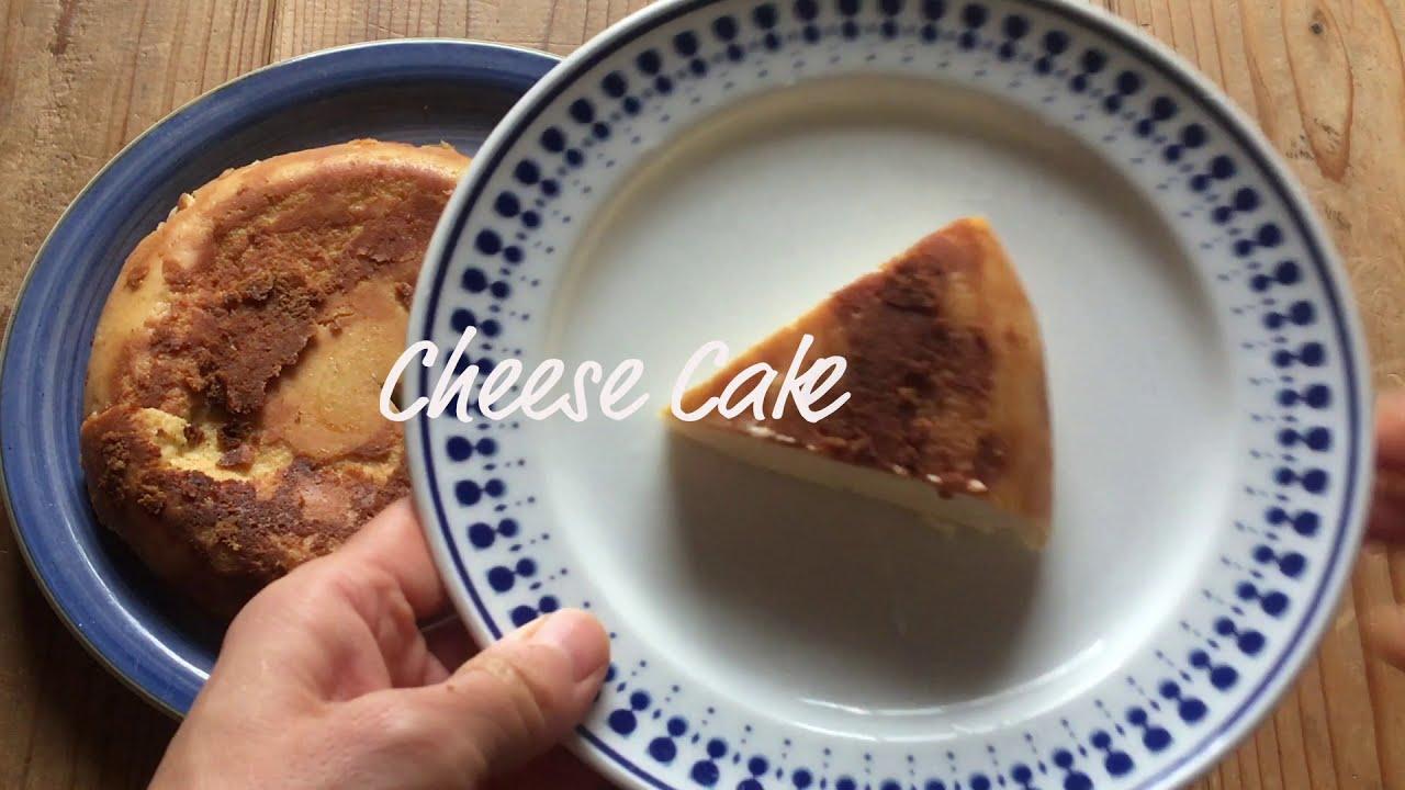 器 ベイクド チーズ ケーキ 炊飯