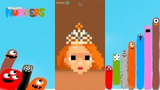 Fun Faces 2 Part 1 Puzzles - DragonBox: Numbers (iPad, iPhone, Android). Fun game for kids.