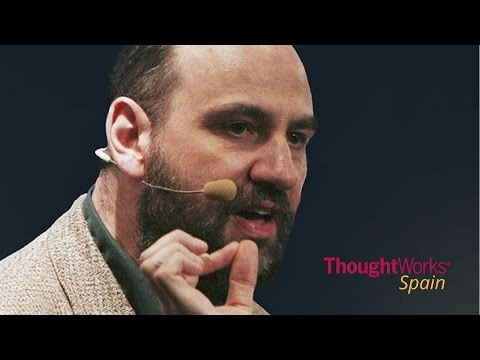Martin Fowler in Barcelona, by ThoughtWorks