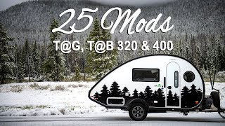 25 Great Mods For Your T@G, T@B 320 & 400 Teardrop Trailers