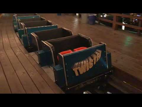 Twister  - Transferring on the 2nd Train (Knoebels)