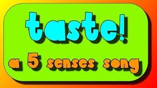 5 Senses Song- The sense of Taste!