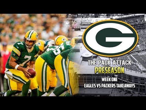 Green Bay Packers | Preseason | Week One Takeaways