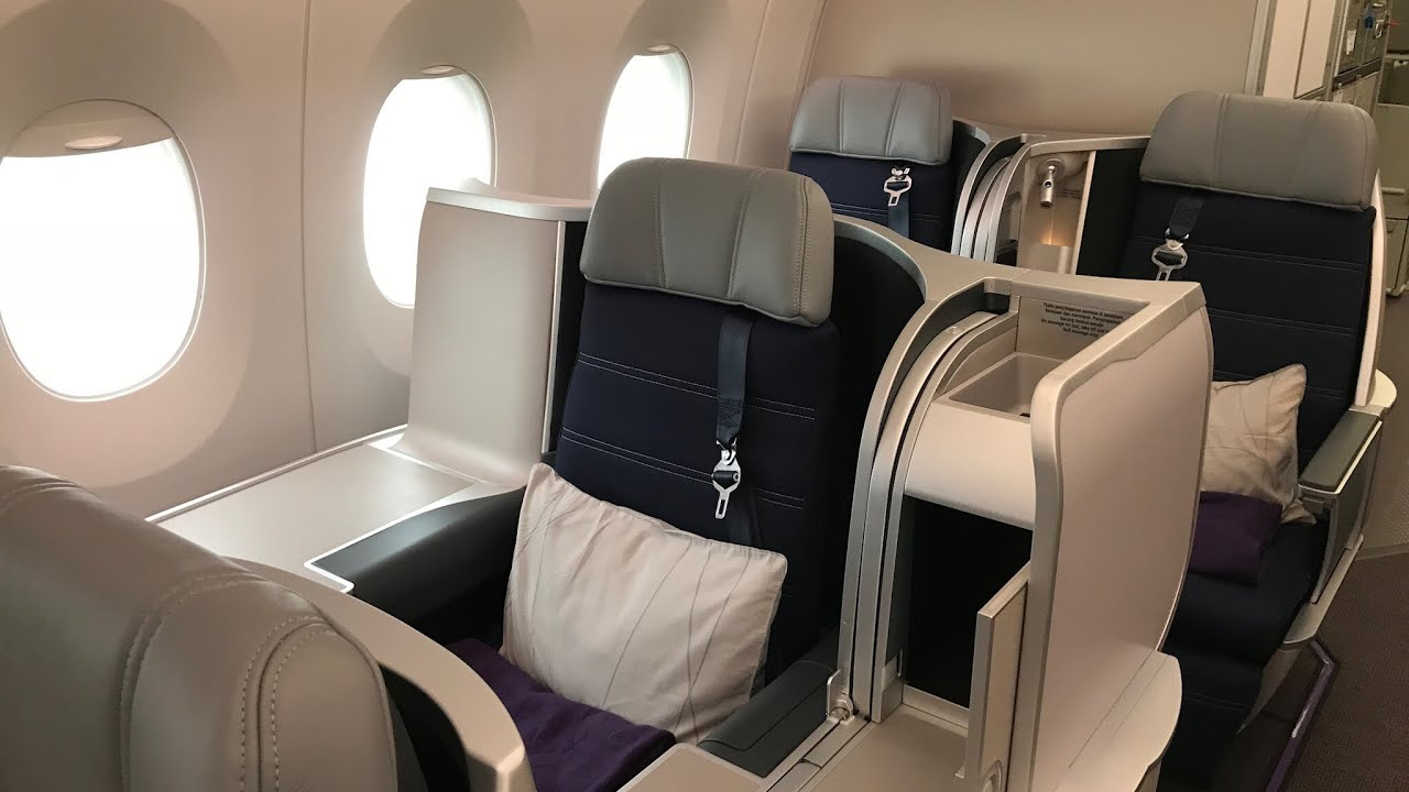 malaysia airlines a350 business class bki kul youtube. Black Bedroom Furniture Sets. Home Design Ideas