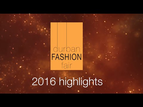 2016 Durban Fashion Fair Awards video