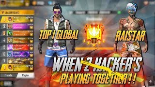 Gambar cover Raistar Playing with Top 1 Global🔥| Hackers or Pro? UnGraduate Gamer !!