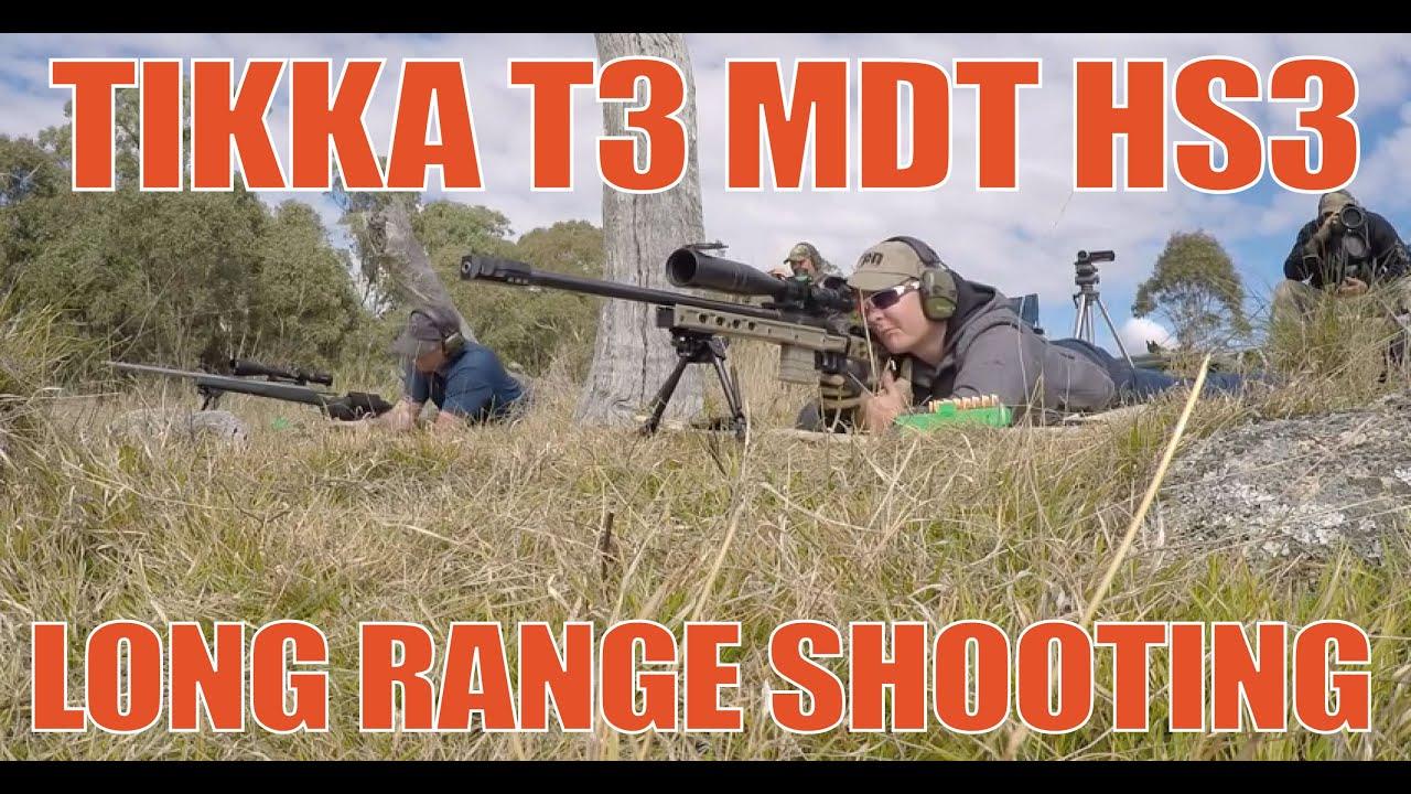 Long Range Shooting Tikka T3 Varmint 308 Mdt Hs3 Chassis