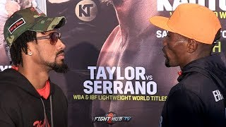 DEMETRIUS ANDRADE & WALTER KAUTONDOKWA COME FACE TO FACE IN BOSTON FOR THEIR DAZN USA FIGHT