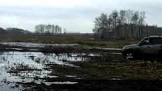 шеви нива грязь