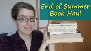 End of Summer Book Haul || Always Doing