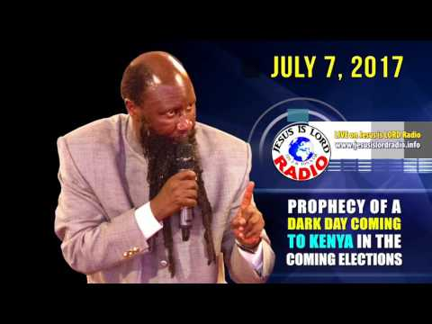 PROPHECY ALERT:  DARK DAY COMING KENYA GENERAL ELECTION, MIGHTIEST PROPHET DR. OWUOR