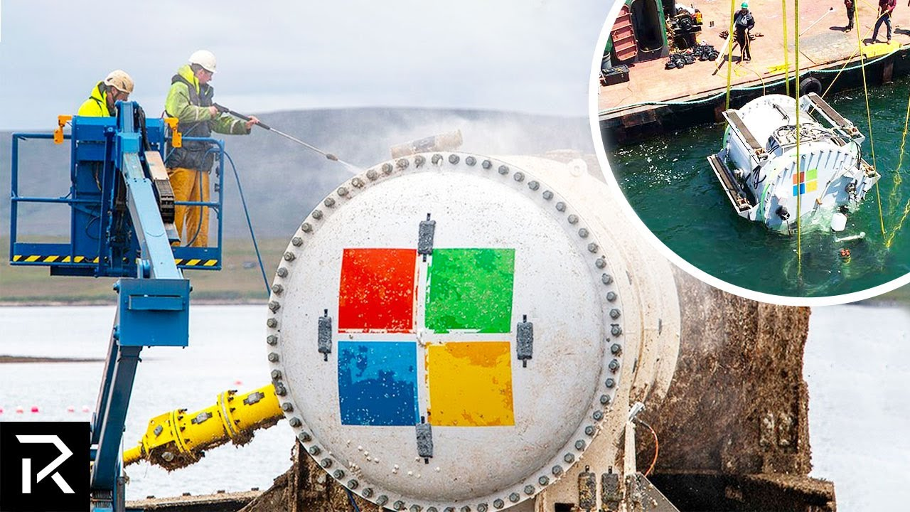Microsoft's $25 Million Dollar Underwater Data Centers