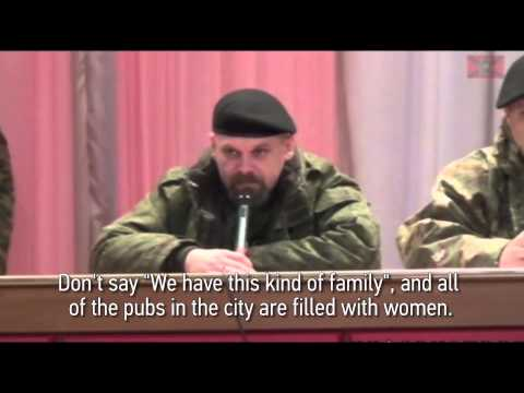 The Luhansk 'People's Republic's Forbids Women to Enter Bars
