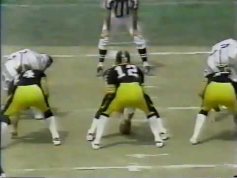 1980 Steelers 20 at Colts 17