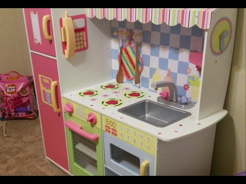 PRINCESS KITCHEN PLAY SET!!! Grandma's gift to Anabelle